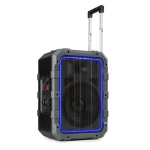 Spencer Portable PA Speaker 60W BT Waterproof to IPX4 Black / Grey