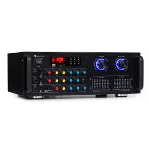 Amp-Pro1 BT PA Amplifier 2x50W RMS BT USB SD 2-channel 7-band Equalizer