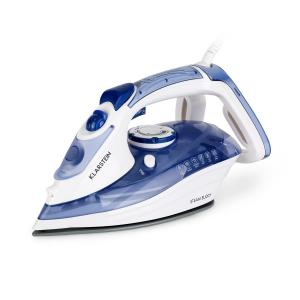 Steam Buddy Dampfbügeleisen 3000W 320ml EasyGlide TouchSensor AntiCalc blau