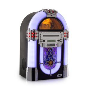 Kentucky Jukebox Bluetooth Radio FM / USB / SD / MP3 Lecteur CD - Blanc