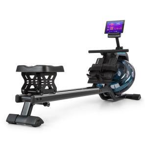 Flow M2 Water Rowing Device 80cm Adjustable LCD Display Steel Black