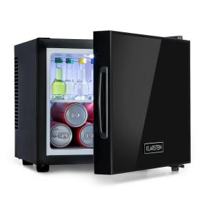 Frosty Mini réfrigérateur 10 litres - Porte miroir - Classe A - Noir