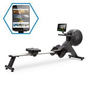 Stream M2 Máquina de Remos Magnética Display LCD 16 Níveis Alumínio