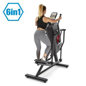 Helix Stride 6-in-1-crosstrainer LC-display 32 standen zwart