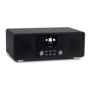 Streamo CD radio internet 2x10W WiFi DAB+ FM lettore CD BT nero nero