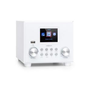 Streamo Cube internetradio 3 W & 5 W RMS WLAN bluetooth valkoinen valkoinen