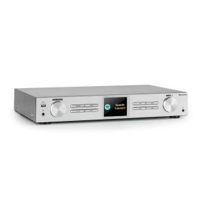 iTuner 320 BT digitaalinen HiFi-radio Spotify Connect BT App-Control hopea hopea