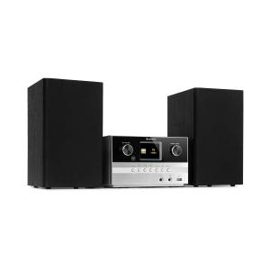 Connect System S Stereo System + Speaker 20Wmax Internet/DAB+ silver Silver
