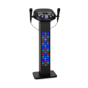 KaraBig LightUp Karoke BT 2 Microfoni Multicolor USB 40W RMS 640W peak