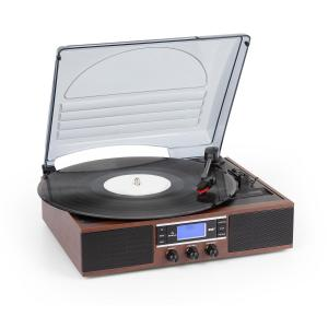 TT-138 DAB Turntable DAB + / FM Belt Drive 33/45 rpm Line-Out