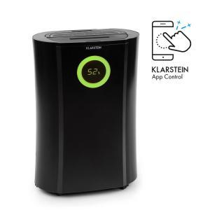 DryFy Pro Connect Luftentfeuchter WiFi Kompression 20l/d 20m² 370W schwarz Schwarz