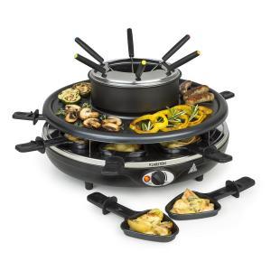 Fonduelette Raclette y Fondue 1350W 1 Litro 38 cm Ø para 8 personas
