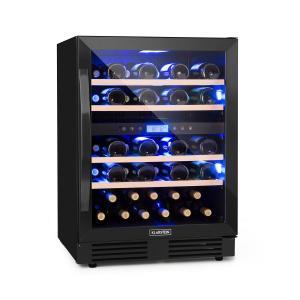 Vinovilla Onyx 43 Zweizonen-Weinkühlschrank 129l 43 Fl. 3-Farben