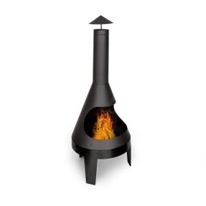 Hidalgo Fireplace Garden Fireplace Ø55cm / 2-in-1 Grill Ø42cm Steel