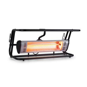Team Mate Estufa exterior 1500 W IR ComfortHeat IP34 Acero