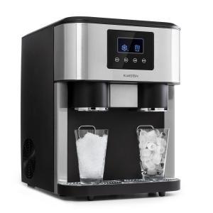 Ice Age Crush Ice Cube Machine 2 Sizes Crushed Ice Silver
