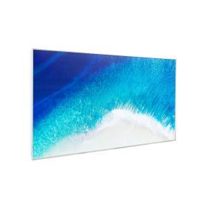 Wonderwall Air Art Strand, infraczerwony grzejnik, 60 x 101 cm, 600 W, naścienny montaż Design_surface_beach
