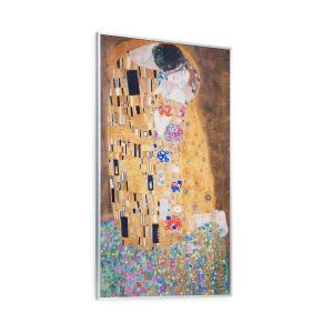 Wonderwall Air Art Kuss, infraczerwony grzejnik, 60 x 101 cm, 600 W, naścienny montaż Design_surface_the_kiss