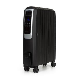 Thermaxx Noir Oil Radiator 2500W 10-30 ° C Timer Remote Control Black
