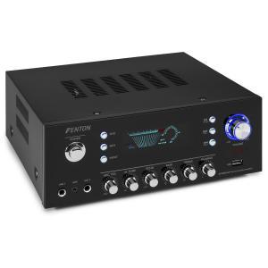 AV120FM Amplificatore Stereo-HiFi 120W RMS (2x60W a 8 Ohm) BT/USB/AUX