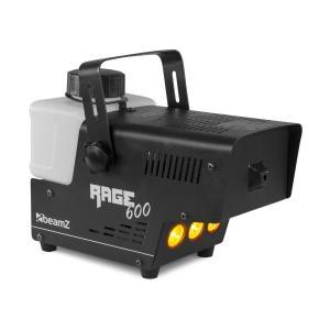 Rage 600LED Nebelmaschine 600W 65m³/min 3xLED 0,5l Kabelfernbedienung