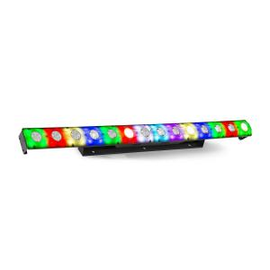 LCB14 LED Bar 14x 3W Warm White and 56x SMD RGB LEDs Black
