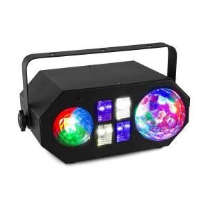 LEDWAVE LED Jelly Ball, 6x3W, RGB, Fala Wodna, 1x4W RGBW UV / Strobe 4x3W, Czarna