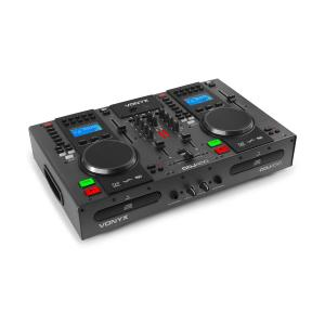 CDJ450 DJ Workstation 2 CD Player BT 2 USB 2 Channel Mixer