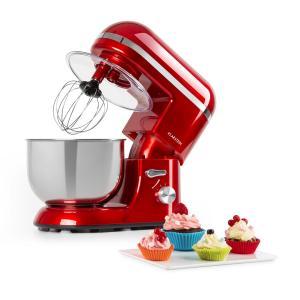Bella Elegance Robot da Cucina 1300W 1,7Cv 6 Livelli 5 Litri rosso rosso