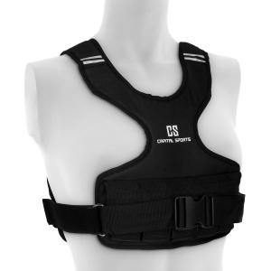 Medusa Weight Vest 10 kg 1200D Nylon Webbing Chest Strap Black 10 kg