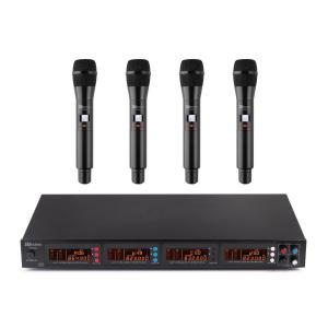 PD504B UHF-Funkmikrofonset 4x Headset + Taschensender 4x50 Kanäle Koffer