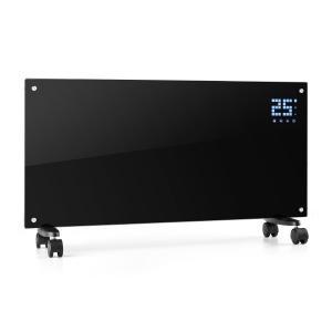 Bornholm Smart Konvektions-Heizgerät 2000W WiFi LED-Display Timer IP24 schwarz Schwarz
