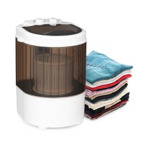Dash Duo Washing Machine 180W 2.5kg Timer 0-15 min. Shoe Brush Black