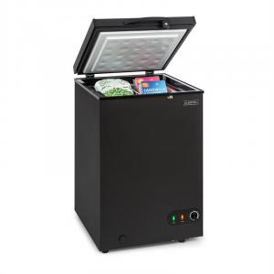 Iceblokk 100, zamrażarka, wolnostojąca, 98 l, kosz, zamykana, klasa efektywności energetycznej A+, czarna Czarny | 98 Ltr
