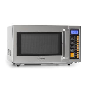 Bestzeit 25, kuchenka mikrofalowa, 1000 W, 25 l, minutnik, 3 poziomy wydajności, stal nierdzewna