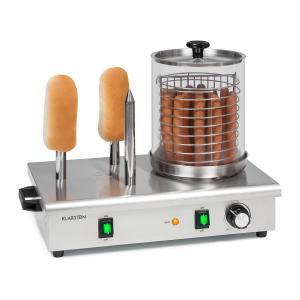 Wurstfabrik 600, urządzenie do hot-dogów, 5 l, 30–100°C, szkło, stal szlachetna, 600 W 600 W