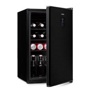 Beer Baron Beverage Cooler A + 68 Litres 39dB 0-10 ° C Black 68 Ltr