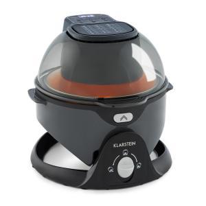 VitAir Pommesmaster Hot Air Fryer 1400W 50-240 ° C Timer Black Black