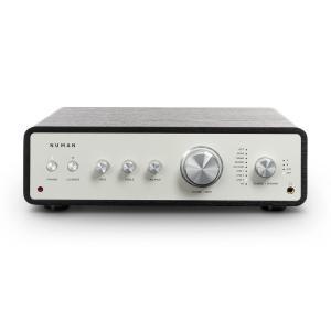 Drive digitaalinen stereovahvistin 2 x 170 W / 4 x 85 W RMS AUX/phono/coax musta musta