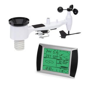 Kopernikus, radiowa stacja pogodowa, wyświetlacz dotykowy LCD, moduł wewnętrzny i zewnętrzny, biały