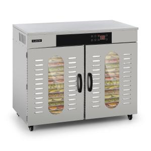 Master Jerky 500 Automatic Dehydrator 3000W 40-90 ° C 24h Timer Stainless Steel Silver 32 stages