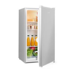 Hudson Kühlschrank A++ 88 Liter Crisperfach Kompression silber Silber