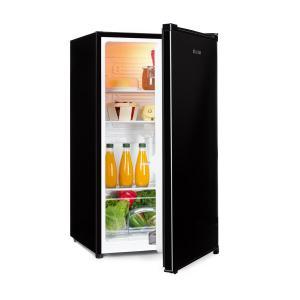 Hudson Kühlschrank A++ 88 Liter Crisperfach Kompression schwarz Schwarz