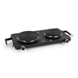 Cookorama Double Hotplate 1900-2250 W 150/180 mm Ø 5 Steps Black Black