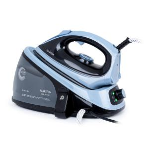 Speed Iron V2 Steam Iron 2100W 1100ml EasyGlide Black / Blue Black blue