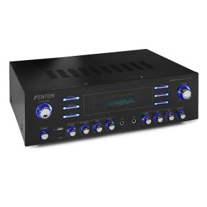 AV340BT surround-hifivahvistin 510 W RMS (2 x 180 W @ 8 ohmia) bluetooth/USB/AUX