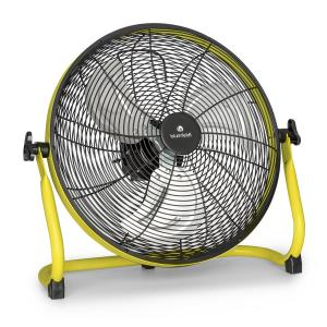 "Wintergarden Floor Fan 16"" Battery 43W USB 45 dB Yellow Yellow"