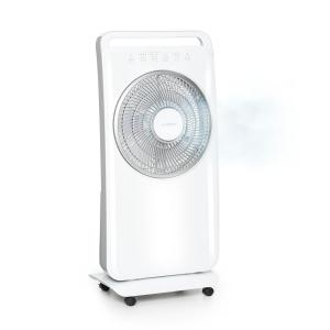Wildwater Pedestal Fan with Humidifier 80W 3690m³ / h 2.5l White