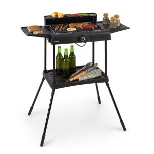Dr. Beef Pro Electric Grill 2000W Non-Stick Grill Surface Side Tables