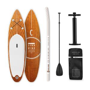 Downwind Cruiser S opblaasbaar paddleboard complete set 305x10x77 S - 305 x 10 x 77 cm